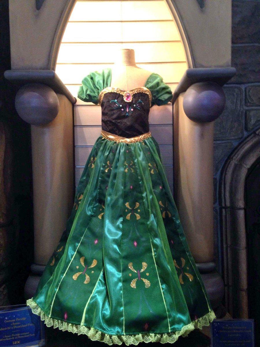 Super Disneyland Parijs verkoopt jurk Anna | Disney Magic EC-87