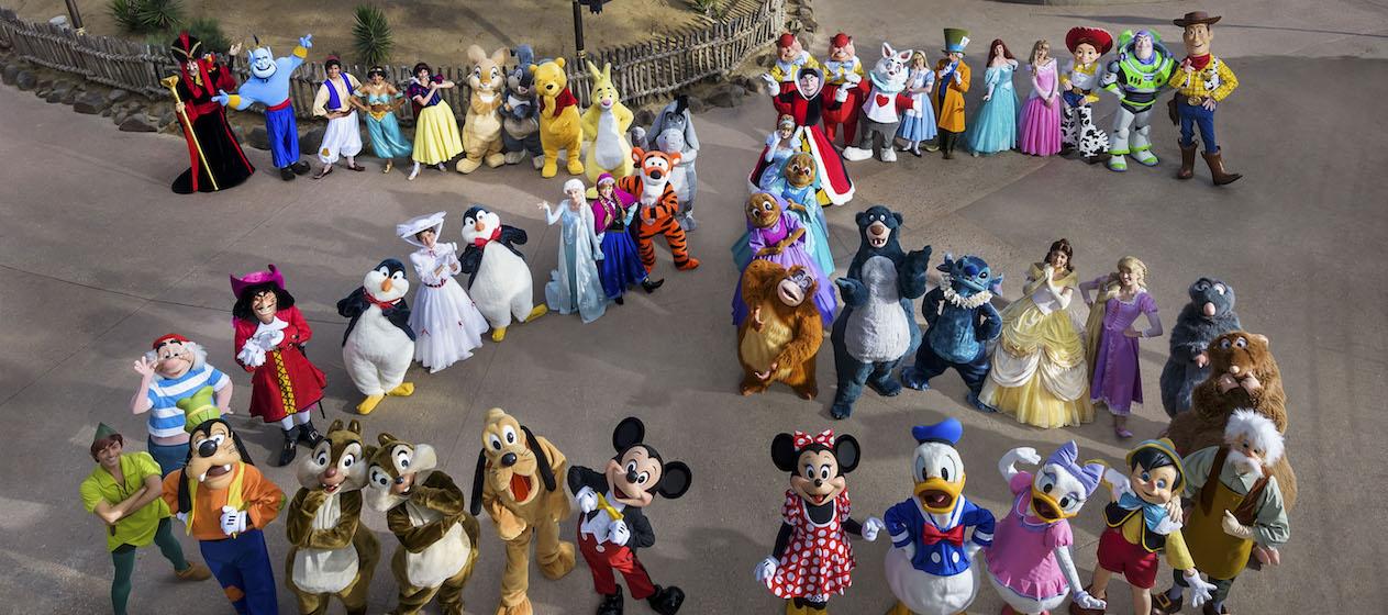 Namen Disney Figuren